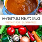 Instant Pot 10-Vegetable Tomato Sauce