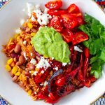 Instant Pot Burrito Bowl (Vegetarian, Gluten-Free, Vegan-Friendly)
