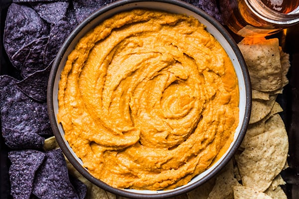 Instant Pot Cheesy Buffalo Cauliflower Dip