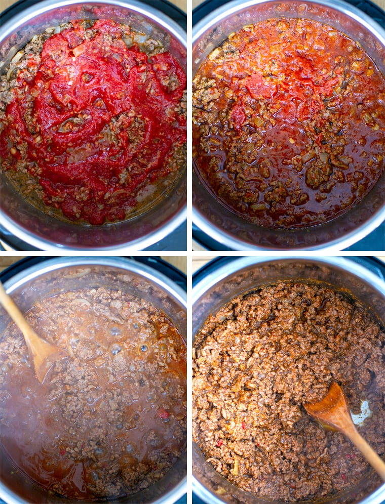 How to Cook taco meat in Instant Pot part 3