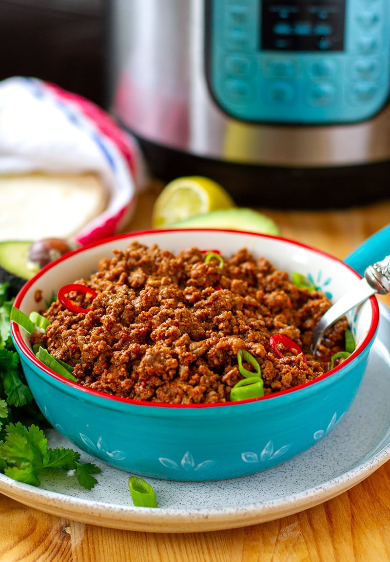 Taco Meat In Instant Pot