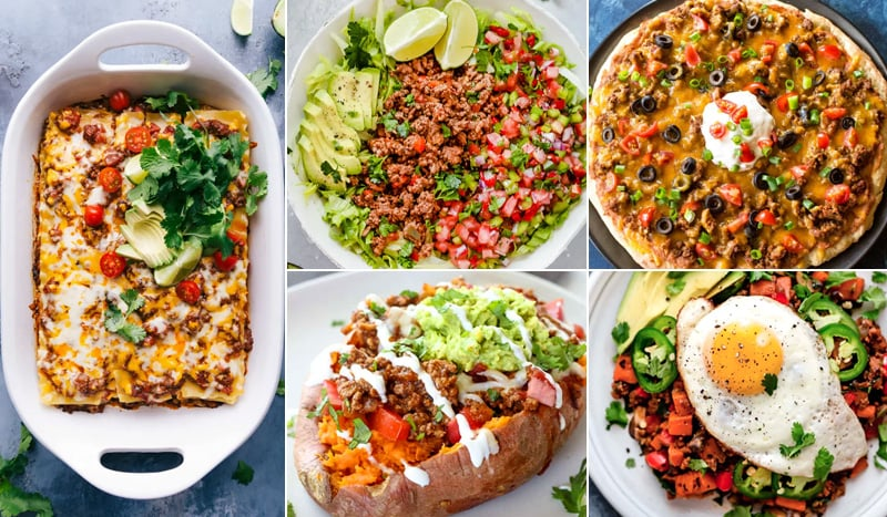 Leftover taco meat recipes