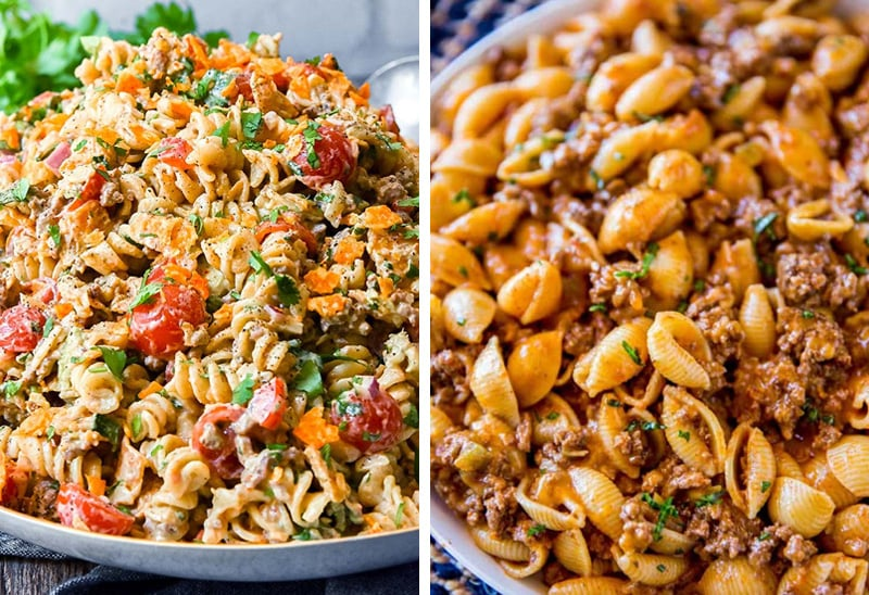 Taco pasta recipes