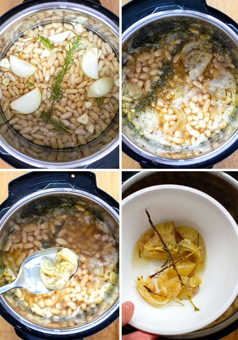 How to cook white beans in Instant Pot part 1