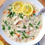 Instant Pot Greek Chicken Soup Avgolemono