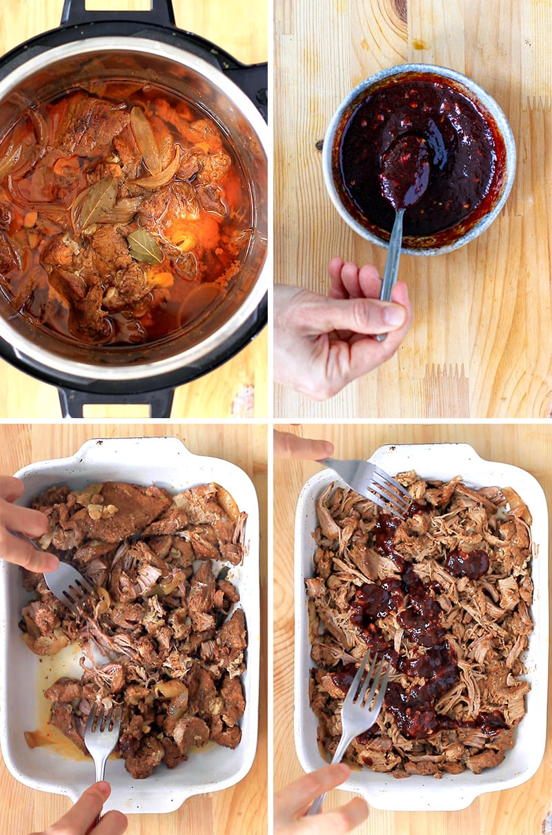 How to cook pulled pork in the Instant pot