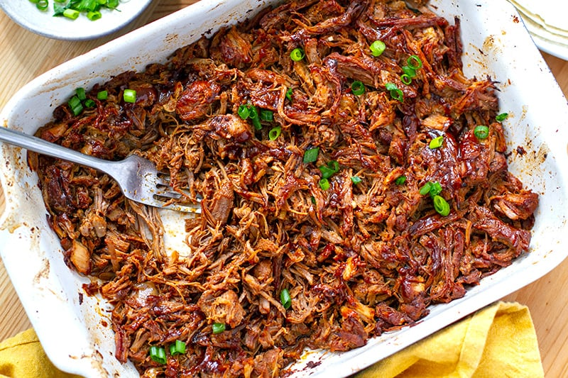 Instant Pot Pulled Pork with Firecracker Sauce