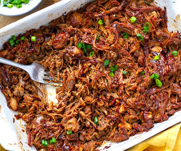Firecracker Pulled Pork (Instant Pot & Stovetop Recipe)