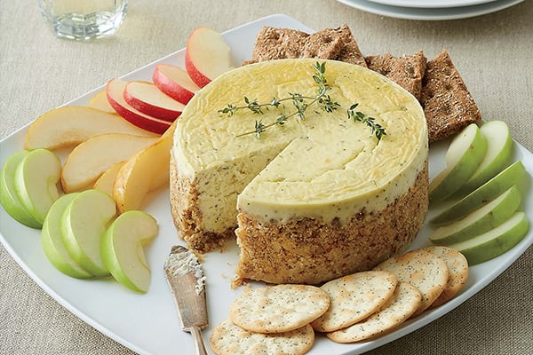 Savory Blue Cheese Appetizer Cheesecake
