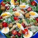 Caesar Pasta Salad With Instant Pot