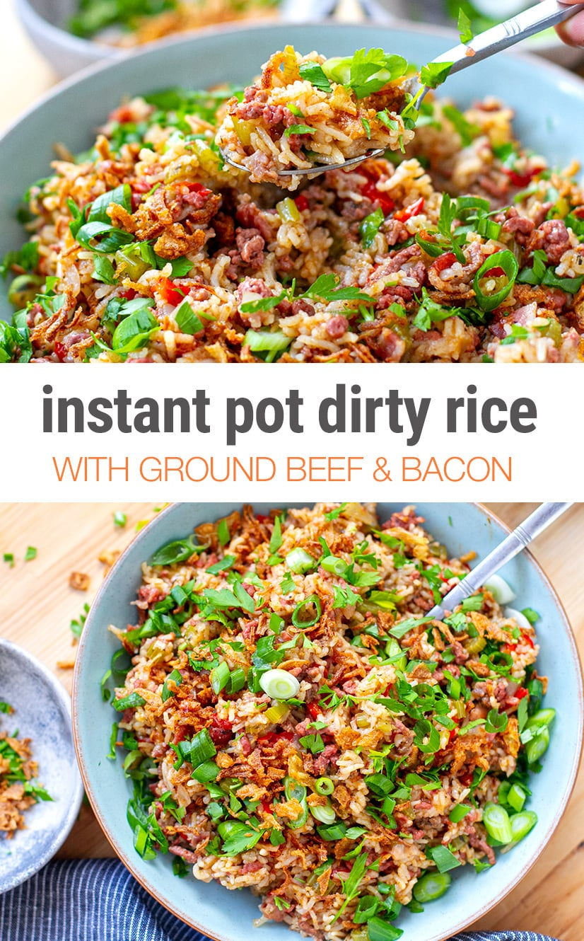 Instant Pot Dirty Rice Recipe