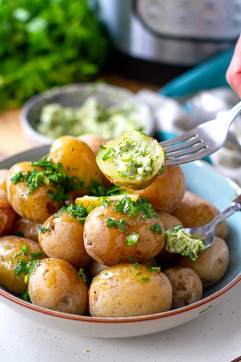 Salt Potatoes Instant Pot Recipe