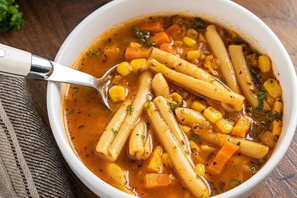 Instant Pot Vegetable Noodle Soup