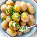 Instant Pot Salt Potatoes With Herb Butter