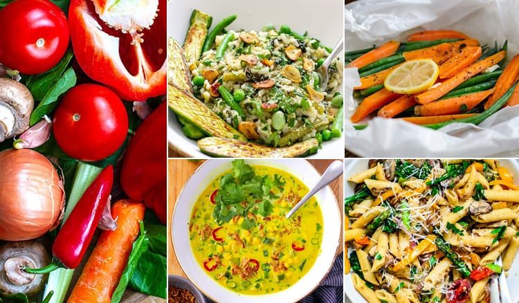 Veggie-Loaded Instant Pot Recipes