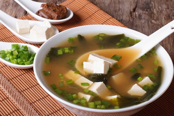 INSTANT POT-PRESSURE COOKER-HOMEMADE MISO SOUP