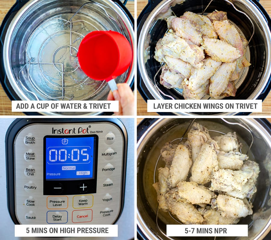 How to cook chicken wings in the Instant Pot