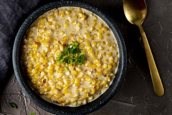 instant pot creamed corn