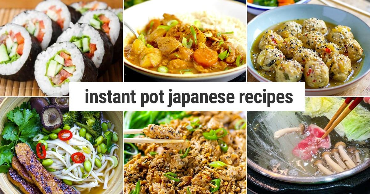 Instant Pot Japanese Recipes