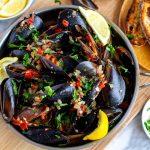 Instant Pot Mussels Marinara