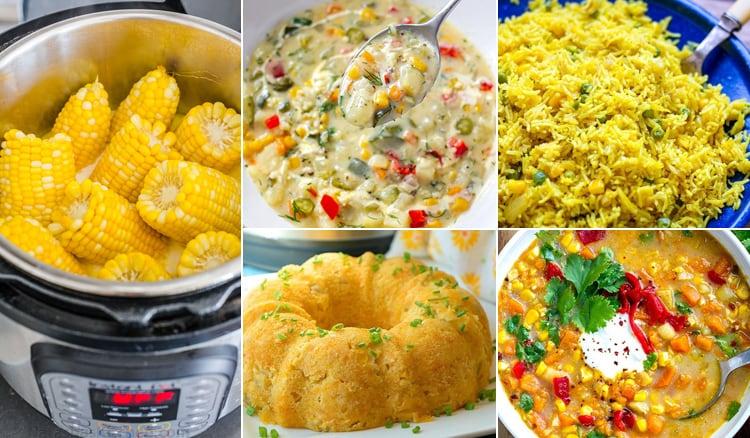 Instant Pot Corn Recipes