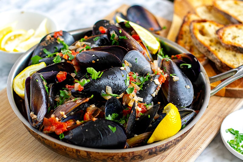 Mussels Marinara In Instant Pot