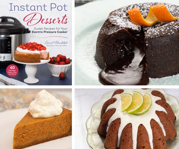 Cookbook Review: Instant Pot Desserts Cookbook