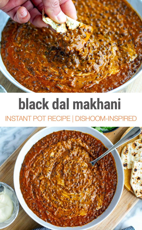 Instant Pot Dal Makhani (Buttery Black Dal)
