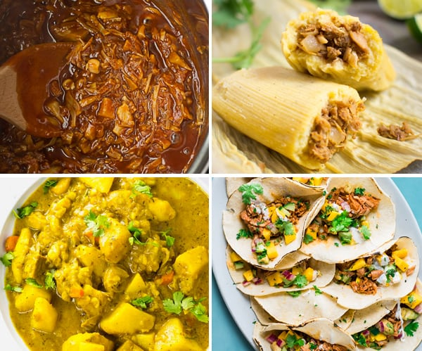 Instant Pot Jackfruit Recipes (Plant-Based)