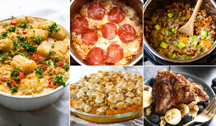 Instant Pot Casseroles For Comfort Dinners