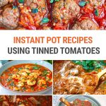 Instant Pot Recipes Using Tinned or Canned Tomatoes