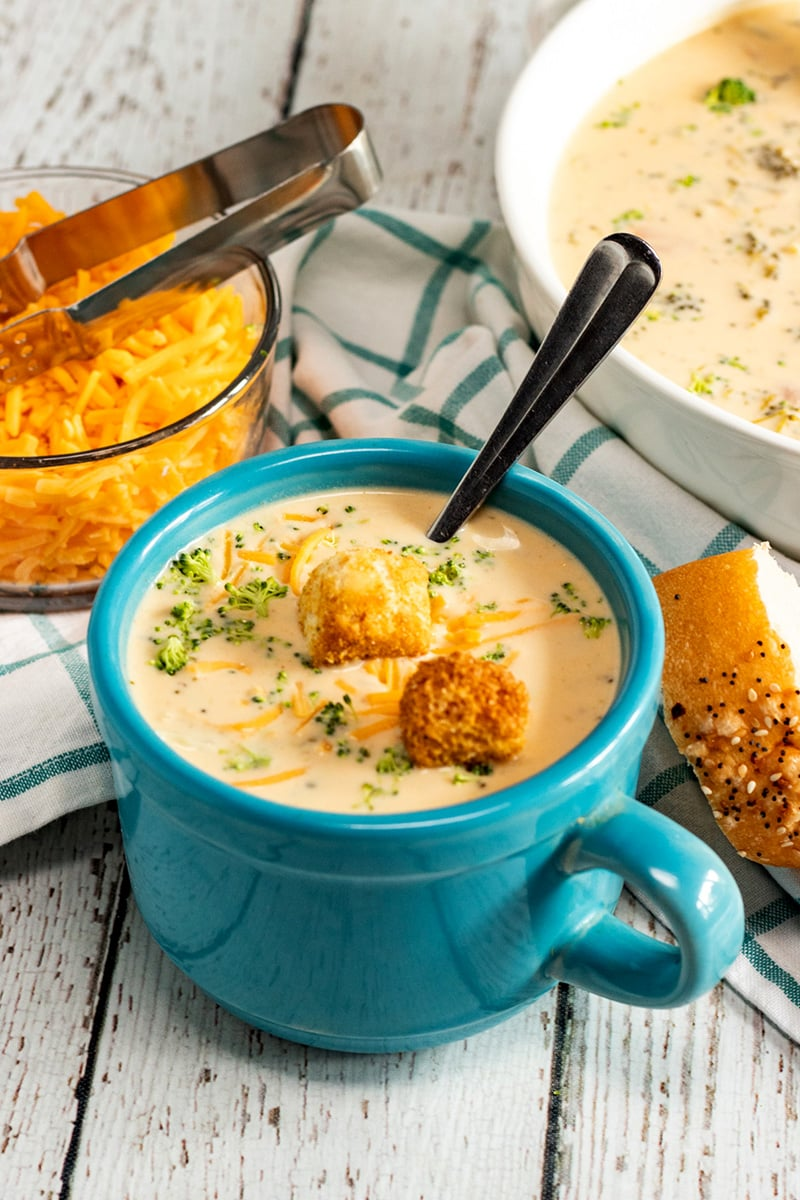 Broccoli Cheese Soup Instant Pot Recipe