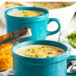 Instant Pot Broccoli Cheddar Soup Recipe