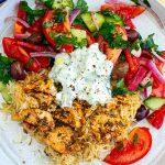 Instant Pot Chicken Souvlaki Rice