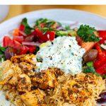 Instant Pot Chicken Souvlaki Rice Recipe