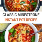 Instant Pot Minestrone Recipe