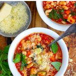 Italian Minestrone Soup (Instant Pot Recipe)