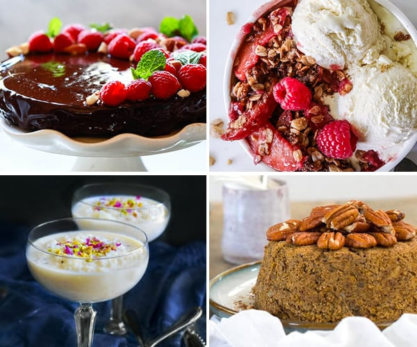 Best Instant Pot Vegan Desserts