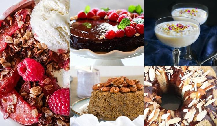 Best Instant Pot Vegan Desserts (Cakes, Crisps, Brownies & More)
