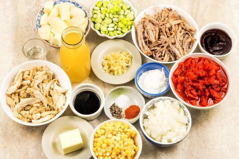 Brunswick stew ingredients