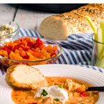 Buffalo Chicken Soup In The Instant Pot Pressure Cooker