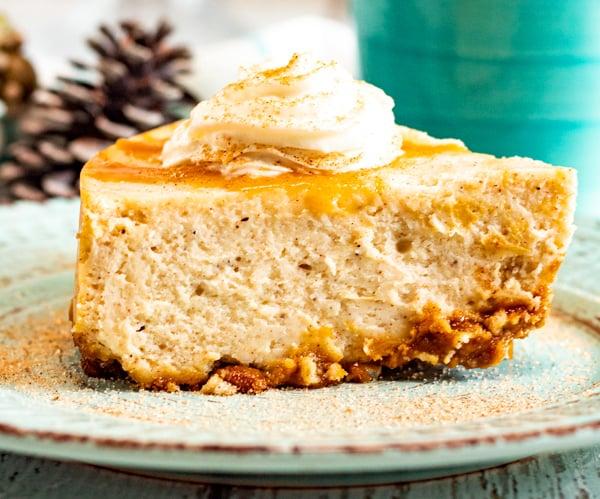 Eggnog cheesecake in Instant Pot recipe