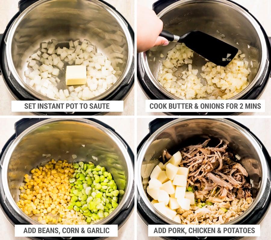 How to make Brunswick stew Part 1