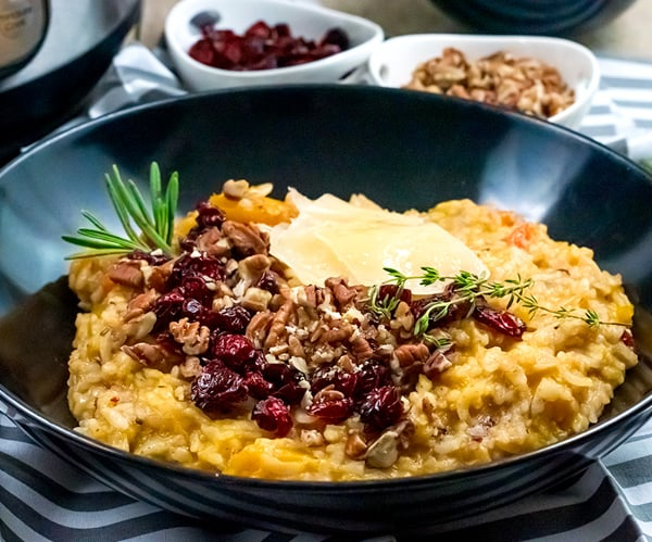 Butternut Squash Risotto Instant Pot Recipe (Thanksgiving)