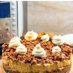 Instant Pot Cheesecake With Pumpkin & Pecans