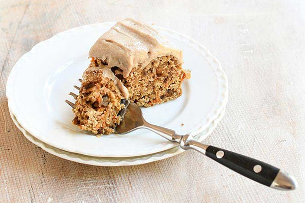 Date Sweetened Instant Pot Carrot Cake