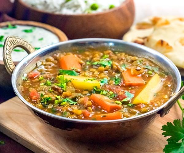 Instant Pot Madras Lentils