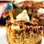 Pumpkin Pecan Cheesecake (Instant Pot Pressure Cooker Recipe)