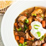 Pressure Cooker Steak & Potato Soup Recipe