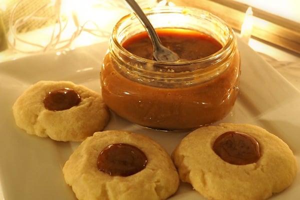 Instant Pot Dulce de Leche & Butter Cookies